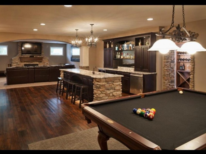 Man cave mom cave finished basement huntley il patch Man cave ideas unfinished basement