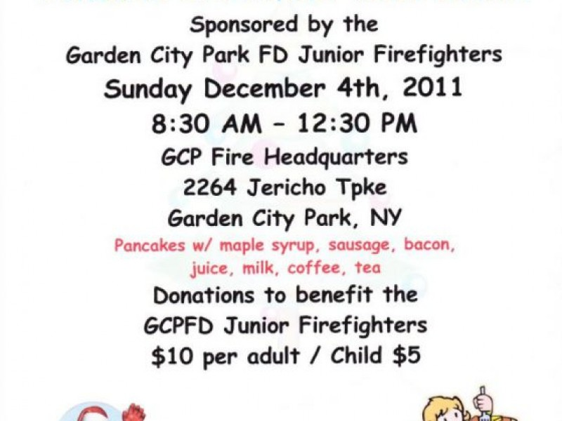 Breakfast With Santa Fundraiser New Hyde Park Ny Patch