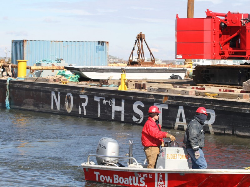 Nj natural gas on site for barge removal barnegat nj patch - Bus from port authority to jersey gardens ...