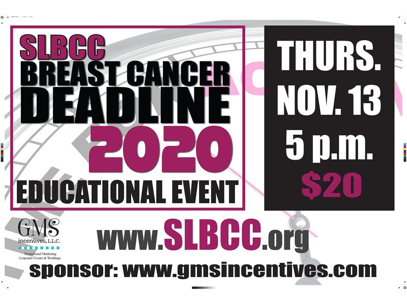 ST  LOUIS BREAST CANCER COALITION - BREAST CANCER DEADLINE 2020 TAKE