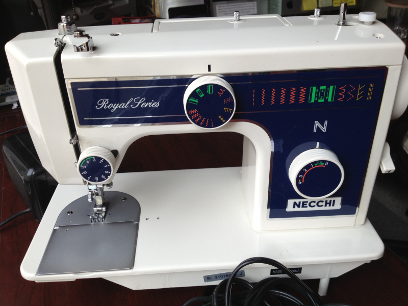 NECCHI 40FB Royal Series Sewing Machine Like New 4040 Napa Best Necchi Sewing Machine