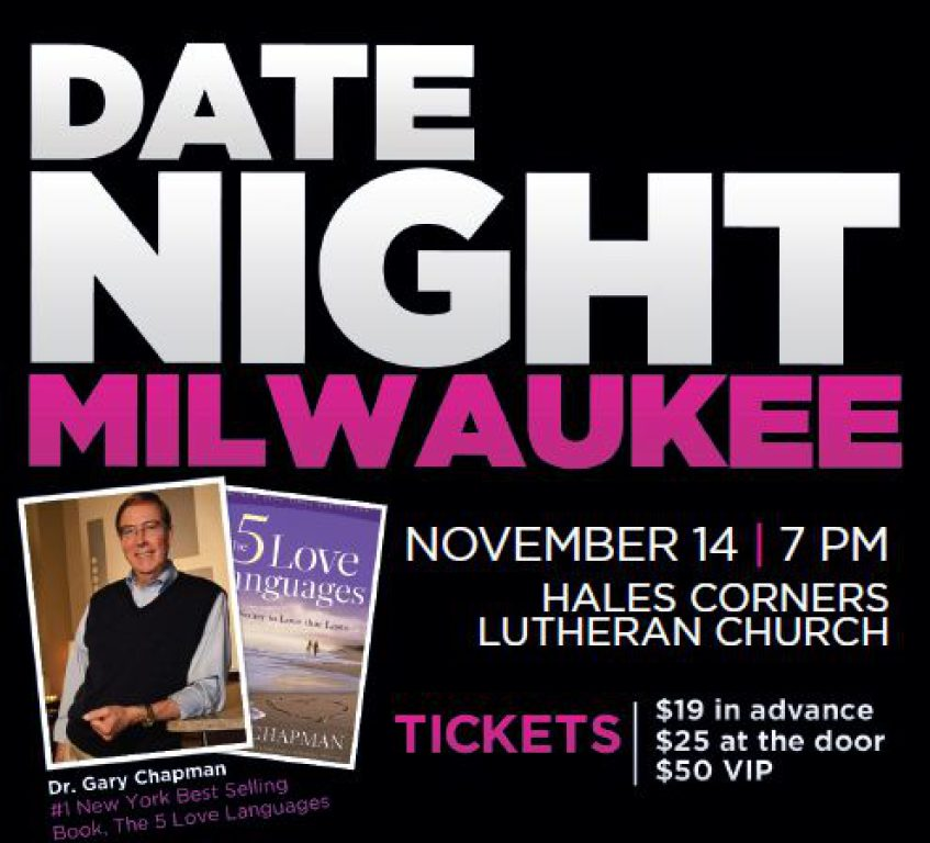 Date Night Milwaukee The 5 Love Languages
