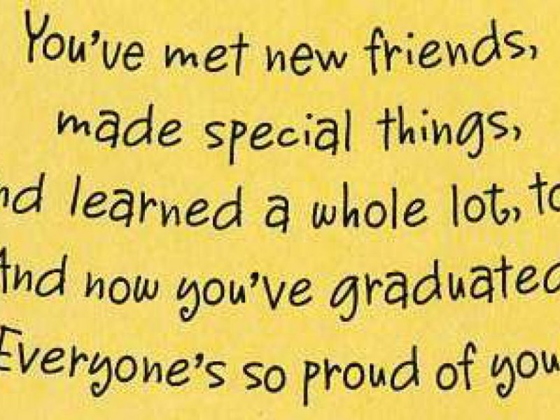 And Its Name Is Preschool Graduation Cards
