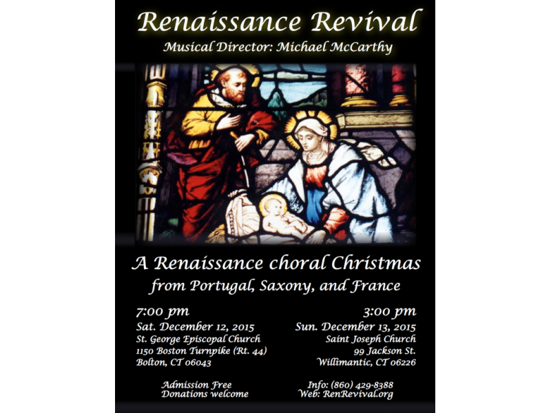A Renaissance Choral Christmas from Portugal, Saxony, and France ...