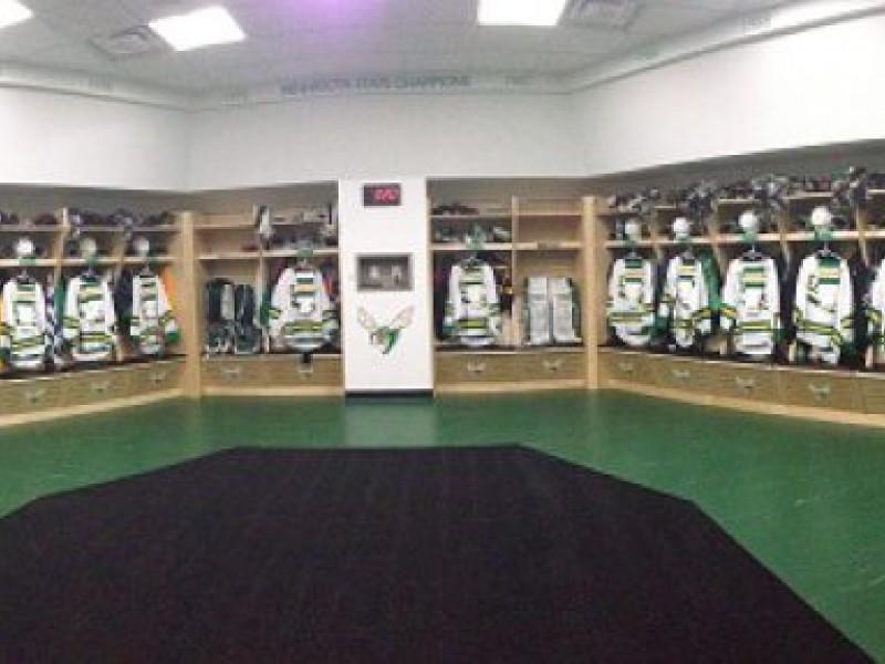 Edina Hockey Locker Room