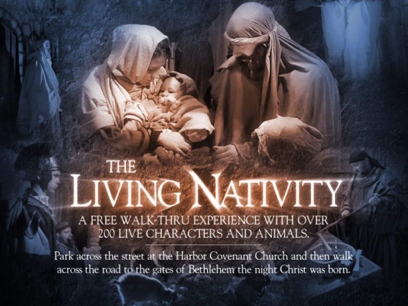 See Over 200 Live Characters Plus Animals In Many Scenes From The First  Christmas. Itu0027s Like Being There As You Experience ...