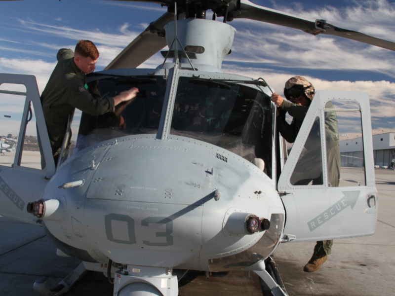 Marine Corps Air and Ground Units Schedule Live-Fire Exercises at 29 Palms