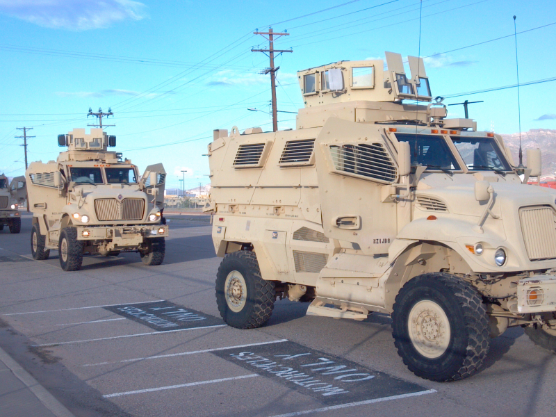 UPDATE: Police Acquisition of Armored Vehicles, Costly Crash Under ...