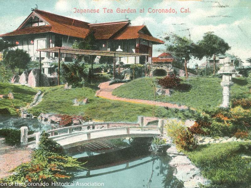 Field Guide to Coronado History: Coronado\'s Japanese Tea Gardens ...