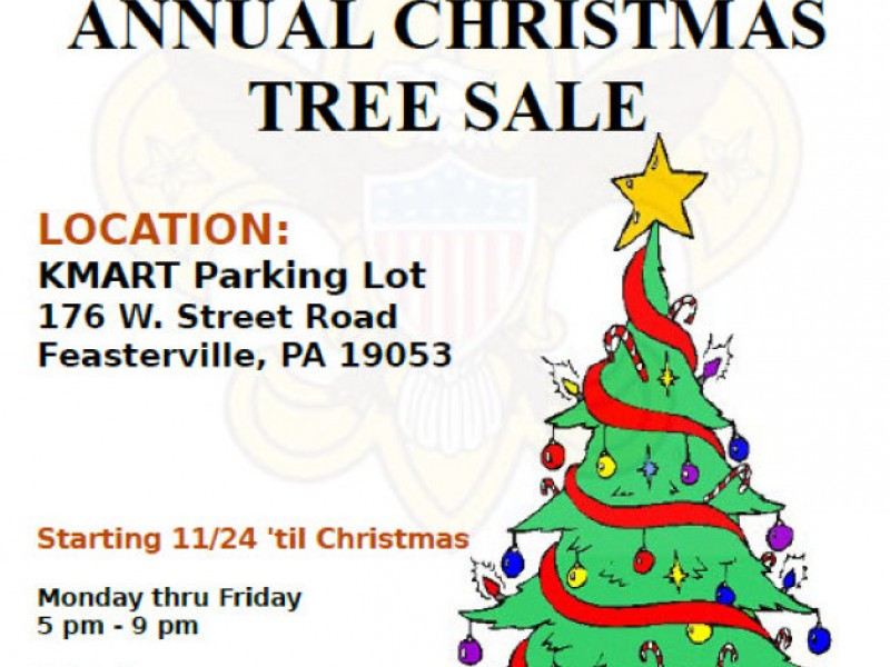 Christmas Tree Sale Hosted By Boy Scout Troop 153