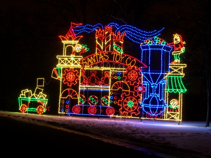 A Christmas Light Display Built by Prison Inmates - A Christmas Light Display Built By Prison Inmates Oswego, IL Patch