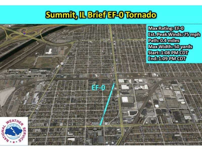 A Tornado Hit the South Suburbs Tuesday Really Oak Lawn IL Patch