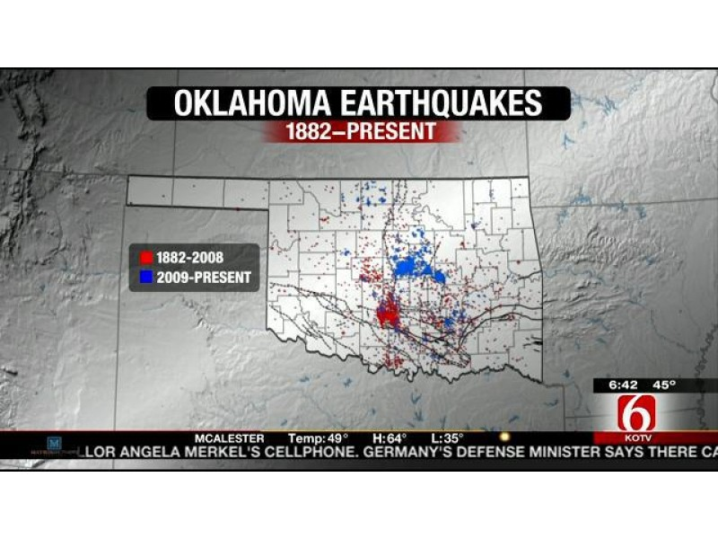 Reactivated Oklahoma Faults Could Cause Major Quake   Malibu, CA Patch