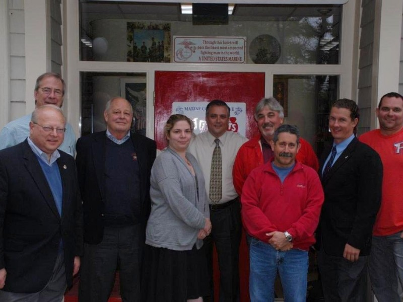Newtown builder honored for community service newtown for Newtown builders