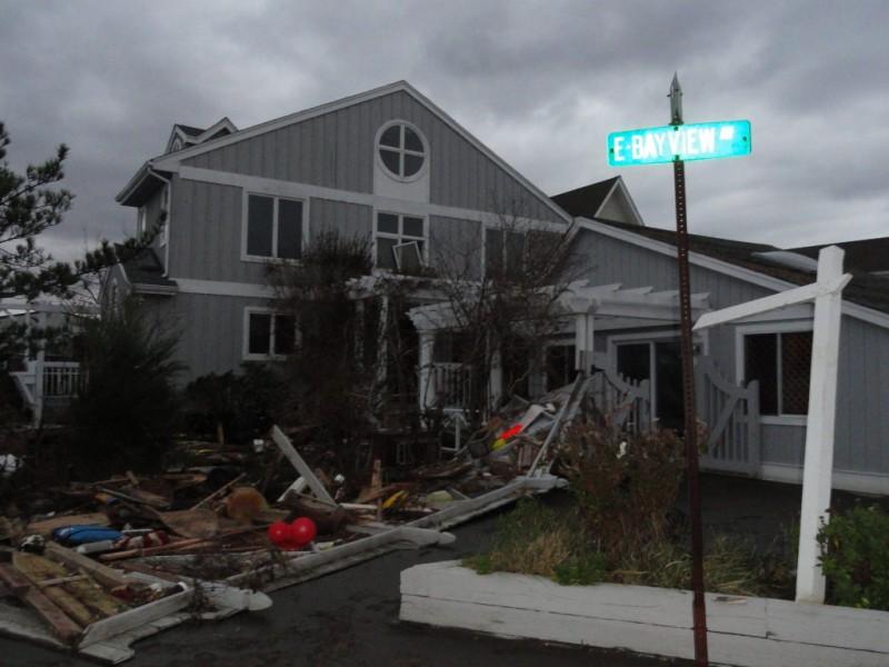Photos Devastation South Of Shore Rd In Lindenhurst