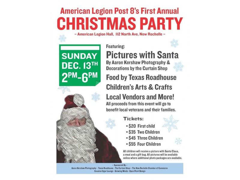 The american legion post 8 1st annual christmas party new rochelle the american legion post 8 1st annual christmas party 0 malvernweather Choice Image