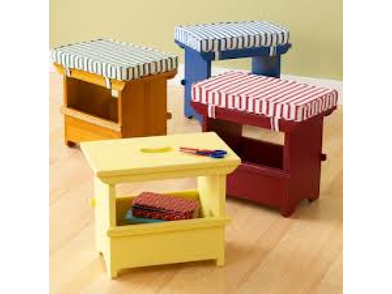 Land Of Nod Children S Craft Storage Table