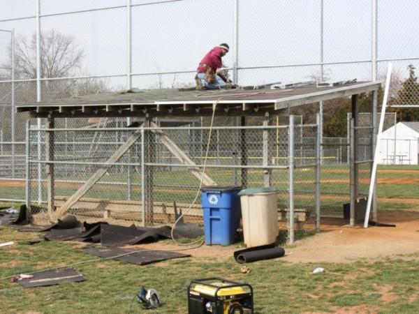 Chantilly Baseball Fields Get New Dugout Roofs, Courtesy of Moss ...