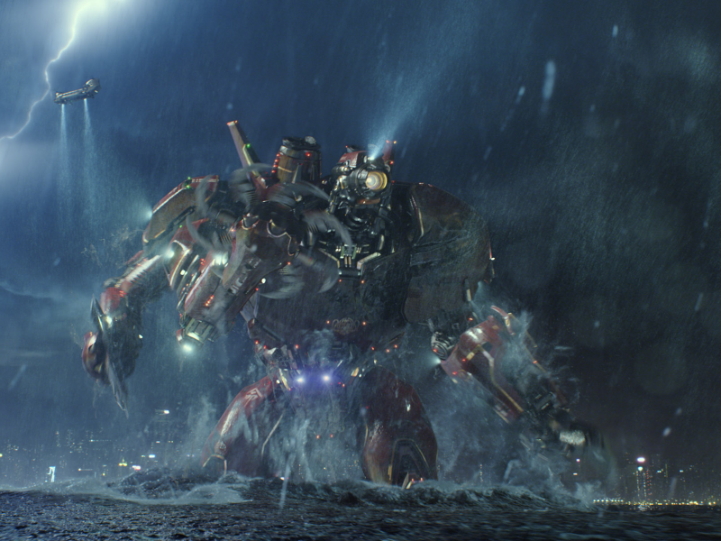 'Pacific Rim' — These Monsters and Robots Rock