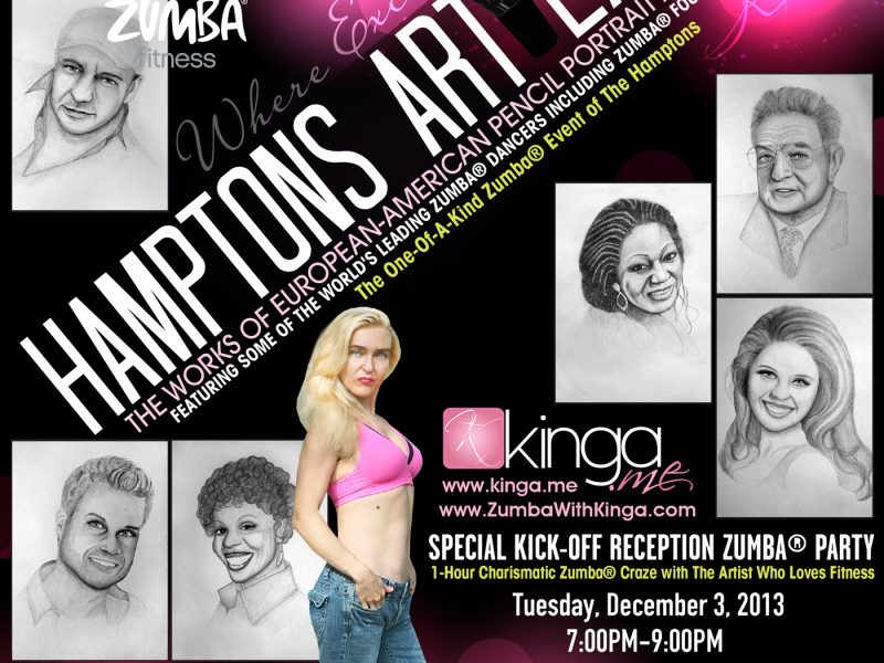 Invitation To The One Of A Kind Zumba Event Of The Hamptons