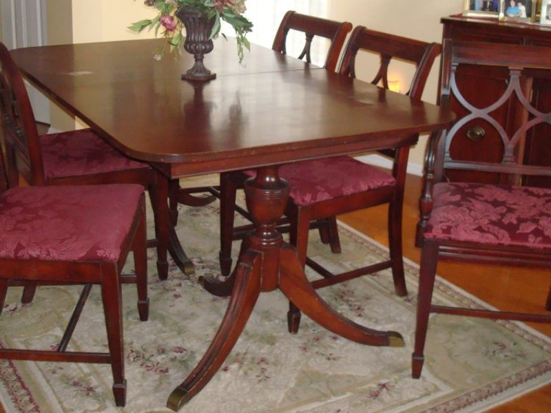 Duncan Phyfe Furniture The Real Vs The Reproduction Lower - Looking for dining table and chairs