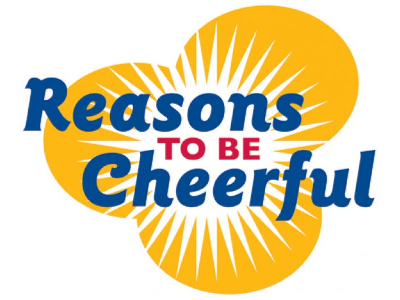 Reasons To Be Cheerful October 2011: Reasons To Be Cheerful Means Ice Cream
