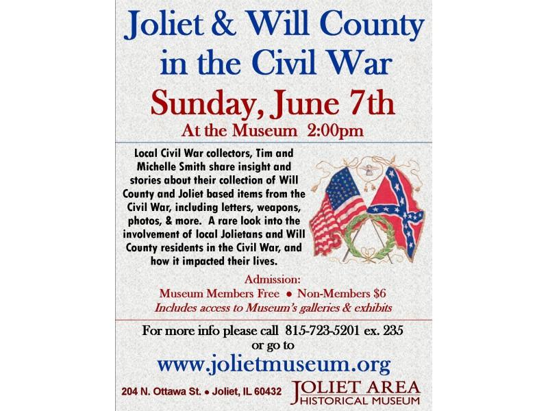 Joliet Amp Will County In The Civil War Joliet Il Patch