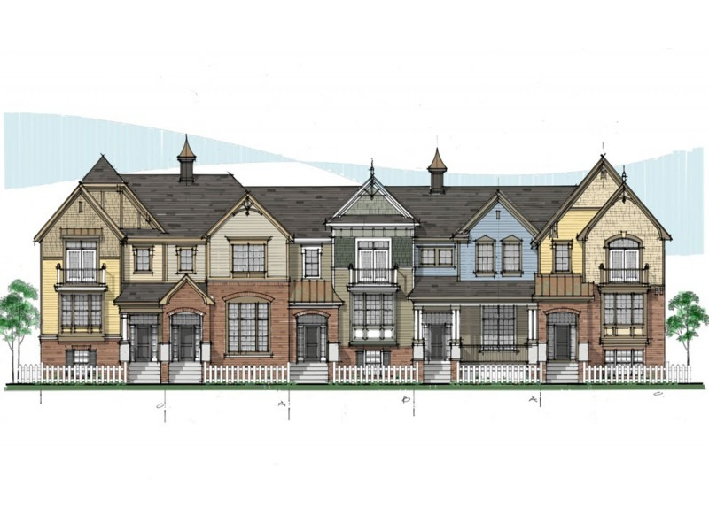 Coming soon english rows townhomes in naperville by m i for Townhome layouts