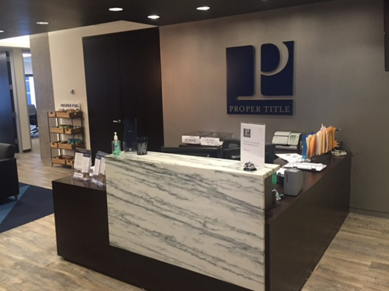 Proper title llc expands chicago office opens new title for Office design northbrook il