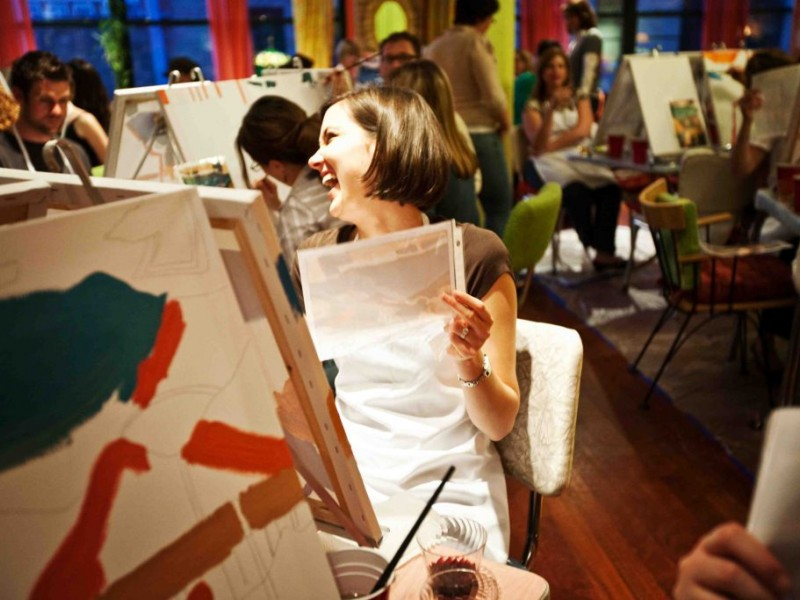 wine tasting painting party montclair nj patch