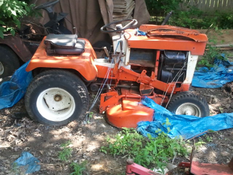 ... For Sale: Vintage John Deere And Simplicity Garden Tractors 0 ...
