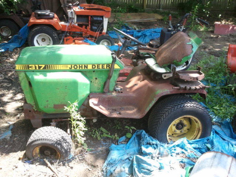 John Deere Tractors For Sale Near Me >> For Sale: Vintage John Deere and Simplicity Garden tractors | Clawson, MI Patch