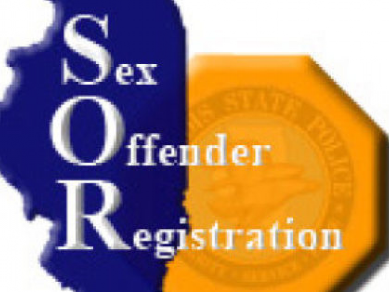 State of illinois sex offender registry something
