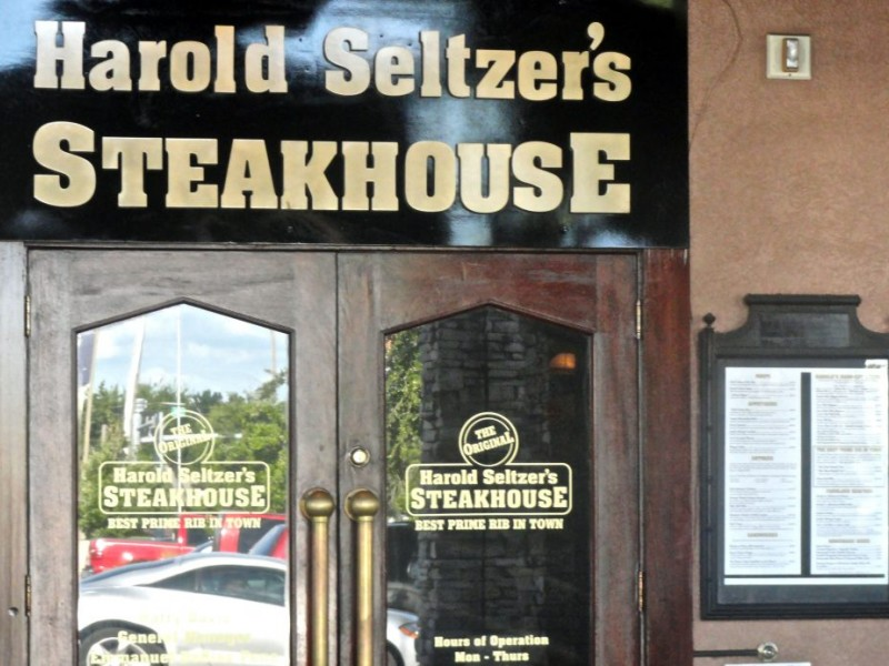 Superb Steaks and More at Harold Seltzer's Steak House - New Port ...