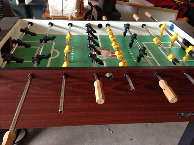 Tornado Foosball Table For Sale Photos Table And Pillow - Single goalie foosball table