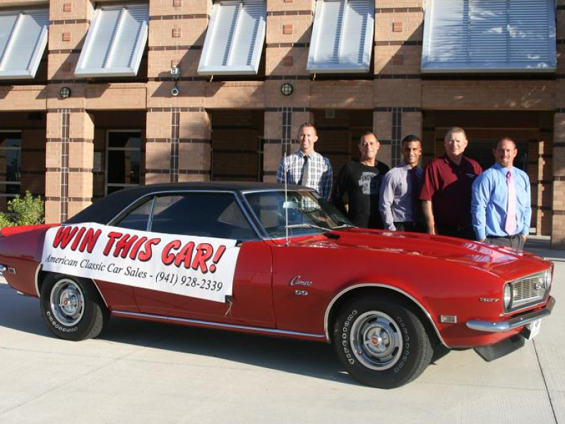 American Classic Car Sales and Bogey's Restaurant Raffle