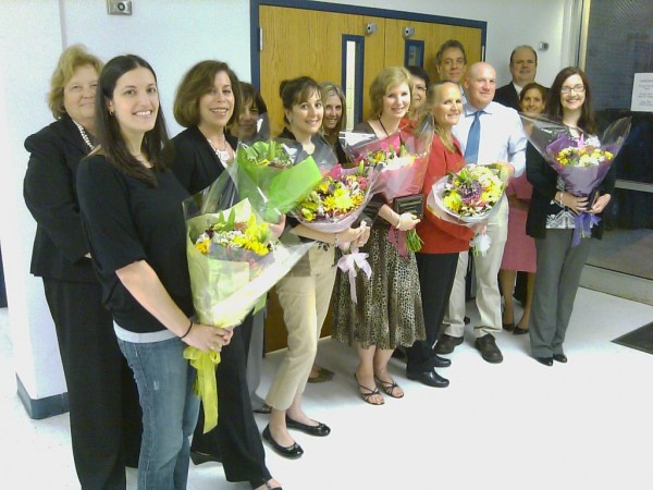 School Board Honors Teacher of the Year Grelis - East Windsor, NJ ...