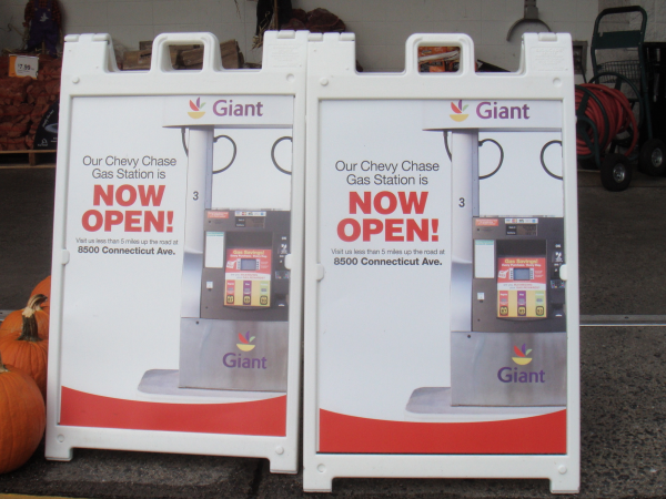 Giant Food Chevy Chase Gas Station NOW OPEN Bethesda MD Patch