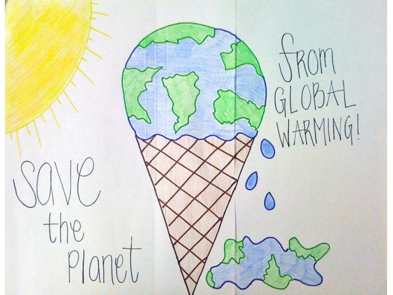 Students Shine In Earth Day High School Poster Contest 0