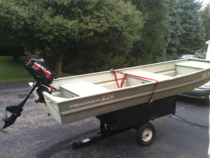 12ft flat bottom boat for sale with motor hartland mi patch for Outboard motors for sale in michigan