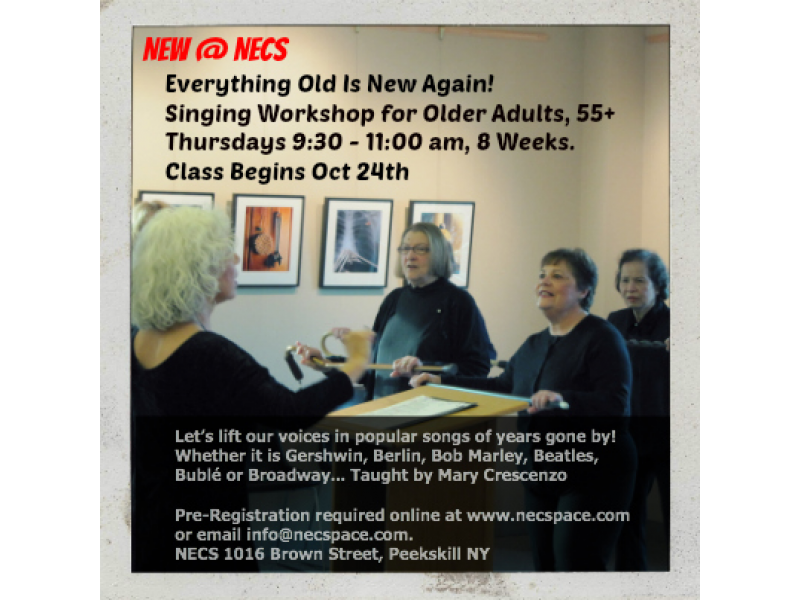 Thursday Oct 24--Everything Old Is New Again! Lift Up Your Voices In