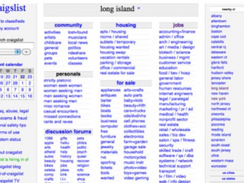 Long Island Craigslist Personals