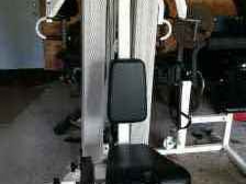 Craigslist finds pre war train set total gym