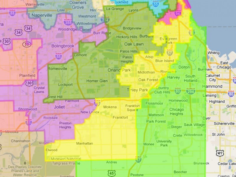 Orland Moved from 13th Congressional District to 3rd Under New Map