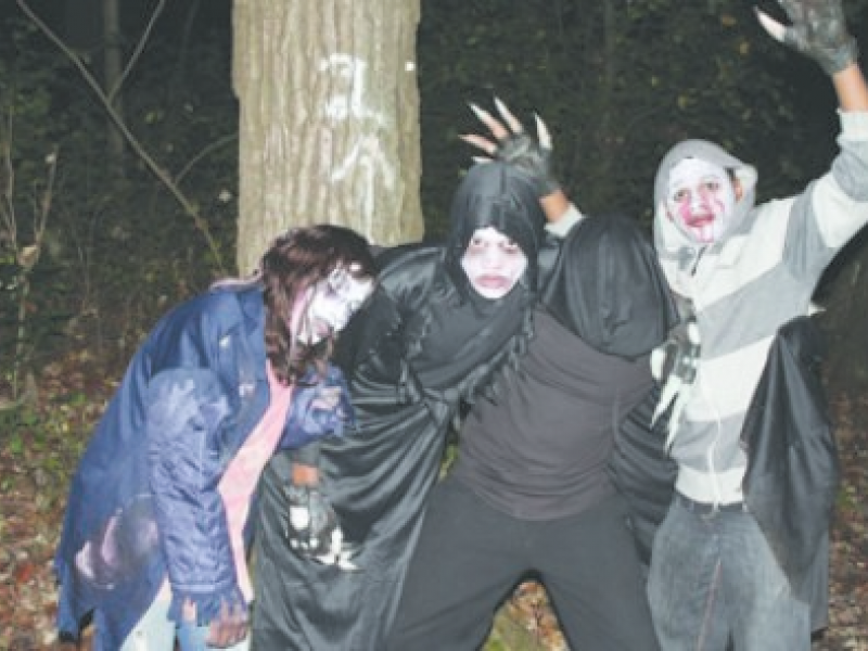 find local haunted houses near orland park