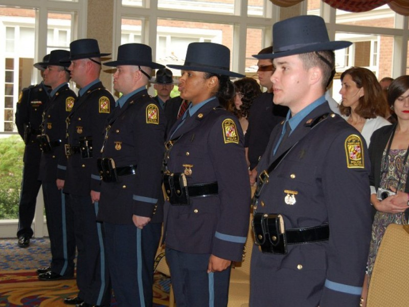 UMd. Police Academy Graduates Five New Officers | College ...