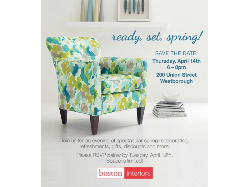 Superbe Boston Interiors Design Event   Ready, Set, Spring!   Westborough, MA Patch