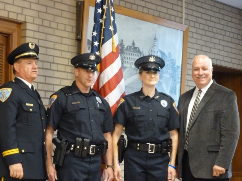 Canonsburg S First Female Police Officer Sworn In Canon