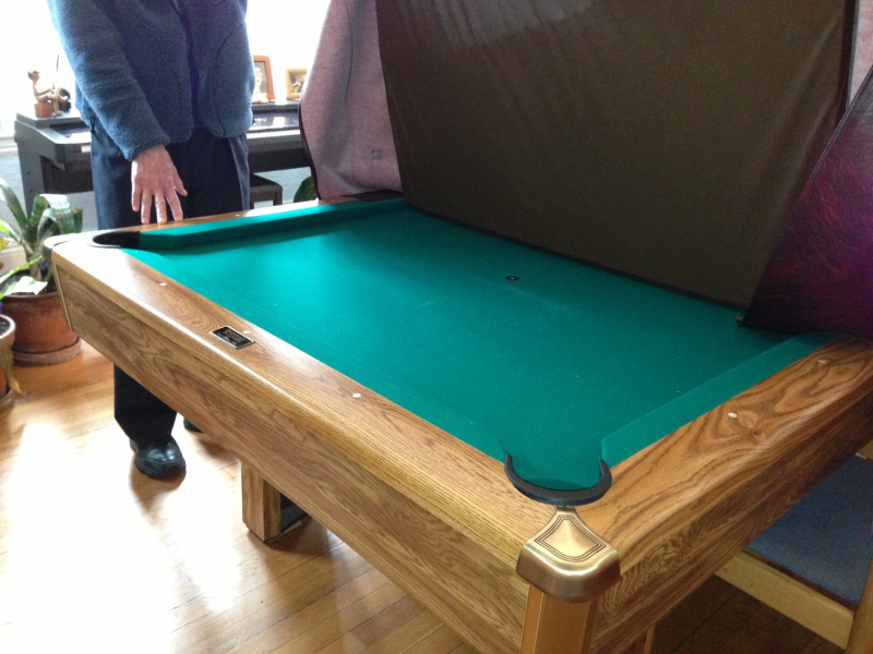 Pool - Dining Room Table Combo | Brookline, MA Patch