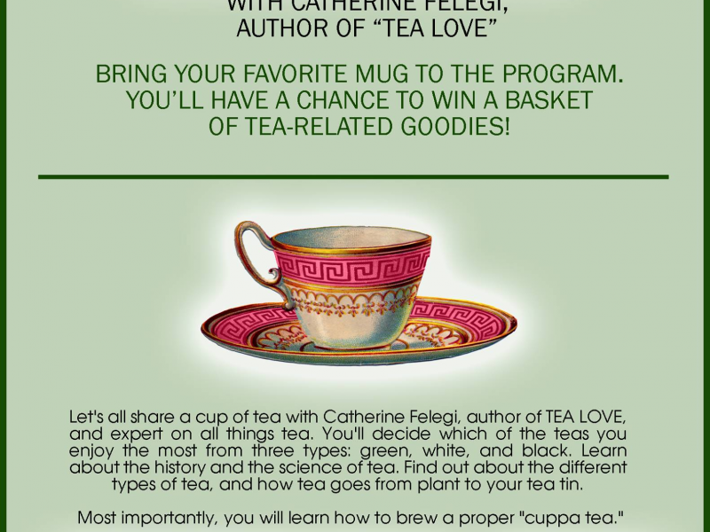 The Art Of Tea Leaf Reading Cranford Nj Patch